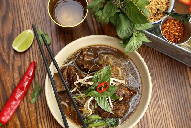 Thai beef pasta